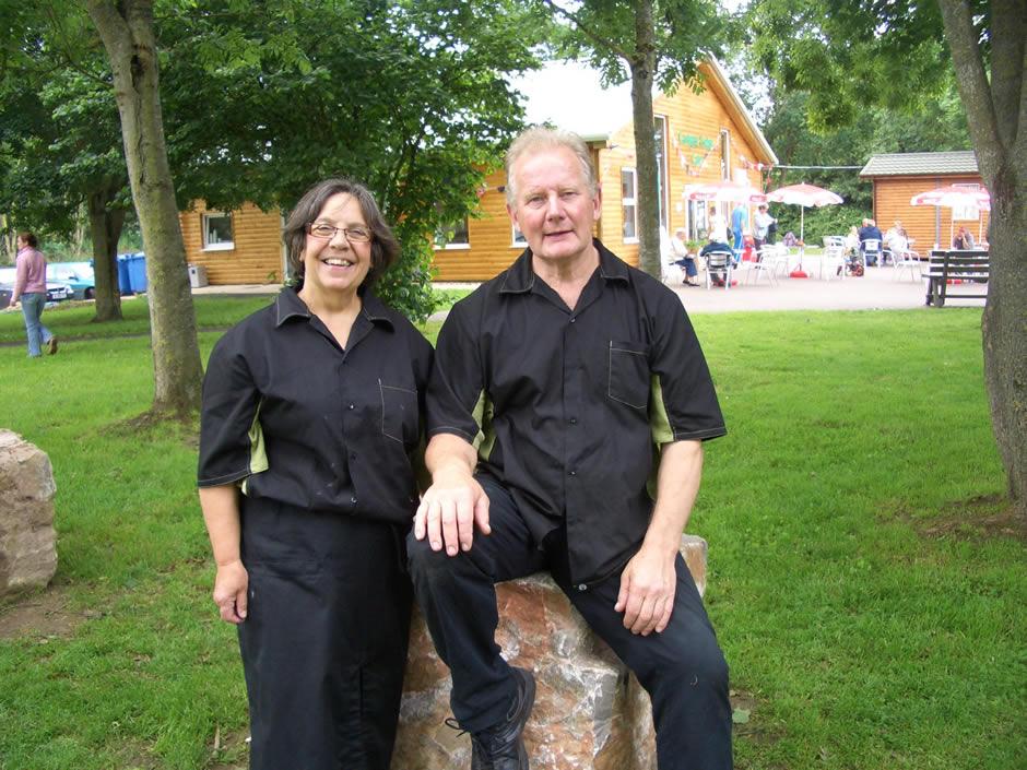 Jill and Chris Mogford